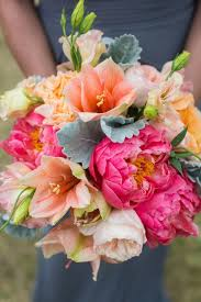 Amazing Peach And Pink Bouquets