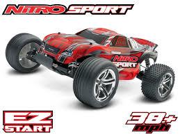 Nitro Sport SE W/ 2.4GHz Radio: 1/10 Scale RTR Nitro Stadium Truck ...
