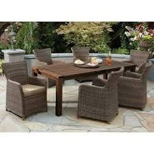 Lowes Canada Outdoor Dining Sets by Shop Gazebo Penguin 7 Piece Outdoor Dining Set At Lowe U0027s Canada