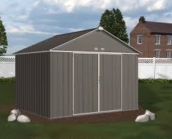 Arrow 10x12 Shed Assembly by Large Metal Sheds Lowest Prices Storageshedsoutlet Com