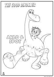 Good Dinosaur Coloring Pages Arlo Spot