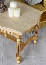 mobiliar interieur barock esszimmer tisch armlehner gold