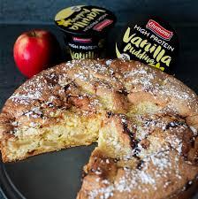 apfel vanillepudding kuchen by runforlifeandsmile