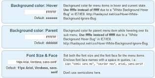 Text Decoration Underline More Space by Atahualpa Tutorial Part 6 Configuring The Page And Category Menus