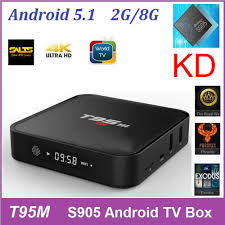 T95M Streaming Rooted Tv Box KD16 0 S905X Best Set top Boxes 2G 8G Android 6 0 Android Quad Core Tv Stable KD Pre Loaded T95m 2g T95m 2gb RAM T95m 2gb RAM
