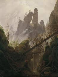 100 Rocky Landscape In The Elbsandsteingebirge Caspar David Friedrich
