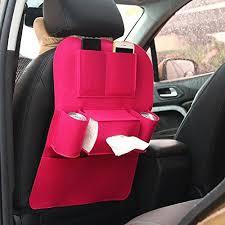 tissu pour siege auto foxpic auto siège organisateur sac de rangement tissu en feutre pour