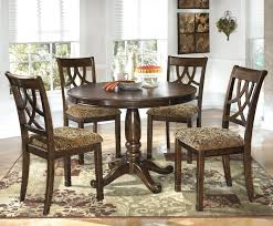 Round Dining Room Set For 4 by Ashley Dining Table Chairs U2013 Mitventures Co