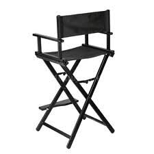 Aluminum Directors Chair With Swivel Desk by Aluminum Director U0027s Chairs Ebay