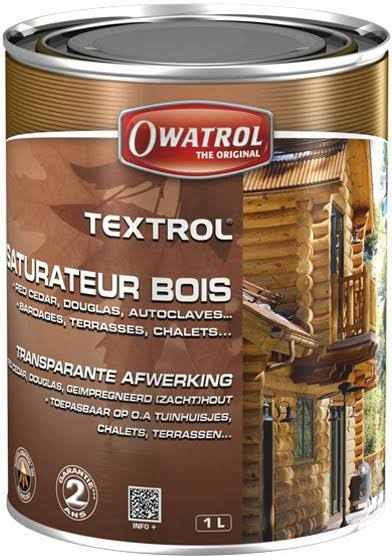Owatrol Textrol Penetrating Oil Finish - Transparent, 1l