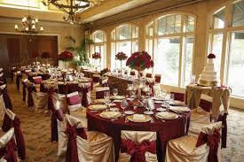 Fascinating Maroon And Gold Wedding Decor 88 On Table Plan With