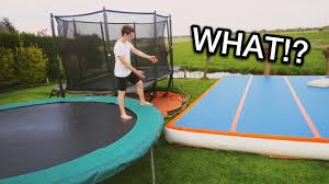 THE ULTIMATE BACKYARD! (Trampolines & Airtrack) - YouTube Best Trampolines For 2018 Trampolinestodaycom 32 Fun Backyard Trampoline Ideas Reviews Safest Jumpers Flips In Farmington Lewiston Sun Journal Images Collections Hd For Gadget Summer House Made Home Biggest In Ground Biblio Homes Diy Todays Olympic Event Is Zone Lawn Repair Patching A Large Area With Kentucky Bluegrass All Rectangle 2017 Ratings
