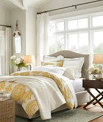 Gray Yellow Brown Light And Airy Pottery Barn