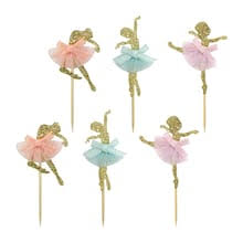 Gold Ballerina Treat Toppers By Celebrate ItR