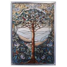 Tree Of Life Art Glass Wall Decor