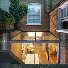 100 Glass Extention Space Group Adds Glass Extension To London House