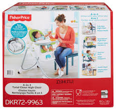 Walmart Canada Portable High Chair by Fisher Price 4 In 1 Total Clean High Chair Walmart Canada