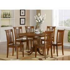 oval kitchen dining room sets you ll love wayfair