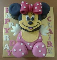 Sherbakes Baby Minnie Cake