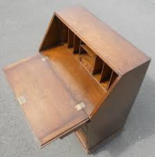 oak writing bureau furniture style oak writing bureau