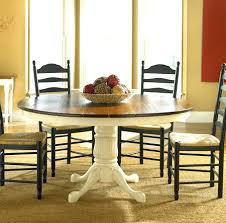 Round Cottage Dining Table Style Set French Country