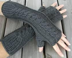 hand warmer knit free pattern hand knitted things pdf pattern