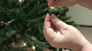 Ge Pre Lit Christmas Tree Replacement Bulbs by How To Replace A Single Light On A Pre Lit Christmas Tree Youtube