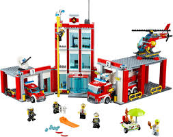 Buy LEGO City - Fire Station (60110) - Incl. Shipping