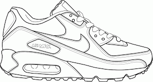 Coloring Pages Shoes Printable