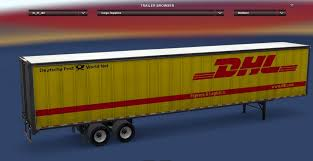 DHL Standalone Trailer Mod For ATS - American Truck Simulator Mod ... Dhl Truck Editorial Stock Image Image Of Back Nobody 50192604 Scania Becoming Main Supplier To In Europe Group Diecast Alloy Metal Car Big Container Truck 150 Scale Express Service Fast 75399969 Truck Skin For Daf Xf105 130 Euro Simulator 2 Mods Delivery Dusk Photo Bigstock 164 Model Yellow Iveco Cargo Parked Yellow Delivery Shipping Side Angle Frankfurt