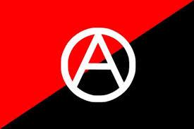 Bandera y símbolo anarquista